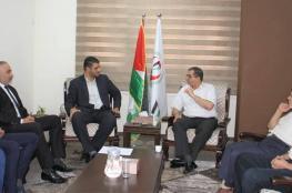 مركز حياة يبحث سبل التعاون المشترك مع وزارة الصحة بغزة