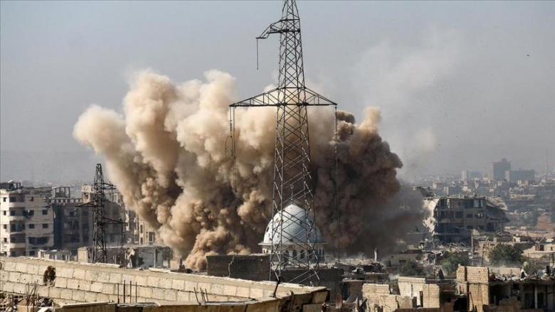 مقتل طفل سوري في قصف النظام للغوطة الشرقية
