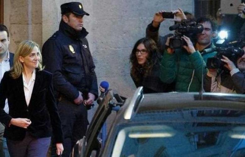 إسبانيا.. براءة شقيقة الملك والسجن 6 سنوات لزوجها