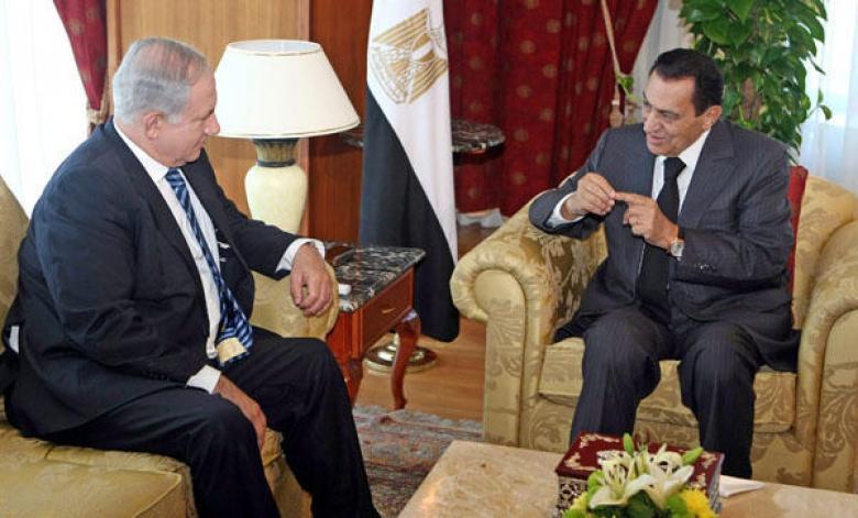 مبارك يكشف اقتراحًا قدمه نتنياهو بشأن غزة عام 2010