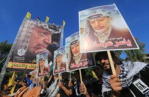 التيار الإصلاحي في حركة فتح يحيي ذكرى رحيل عرفات