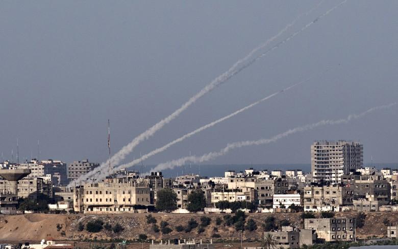 """0404: إطلاق صاروخ من غزة على ساحل """"عسقلان"""""""