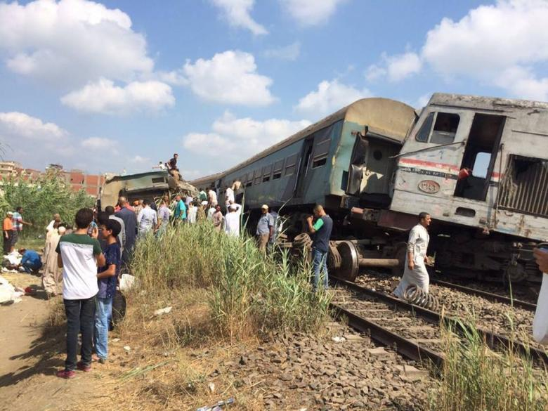 "مصر: حبس سائقي ""قطاري الموت"""