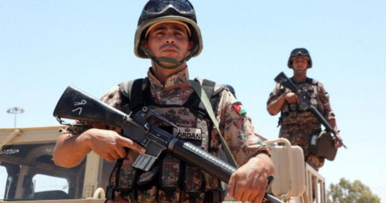 الجيش الأردني يعترض متسللين من سوريا