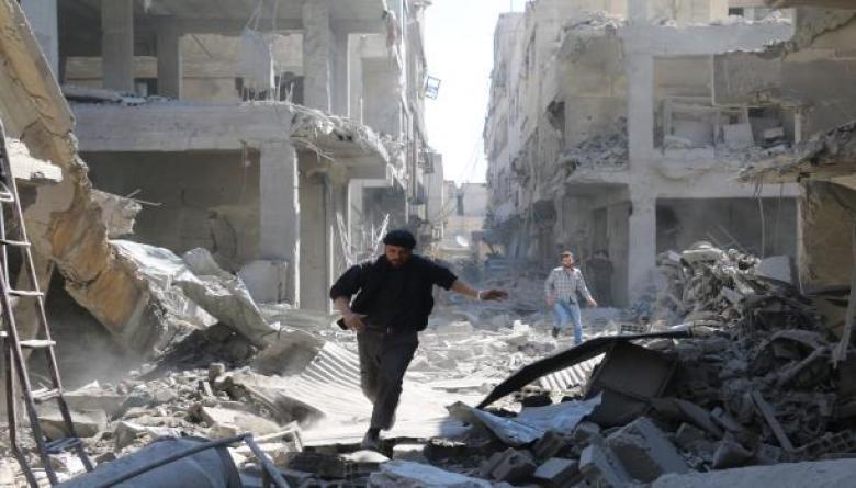النظام السوري يجدد قصف ريفي حماة وإدلب