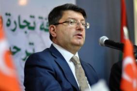 السفير التركي يتعهد بتلبية الاحتياجات الإنسانية لغزة