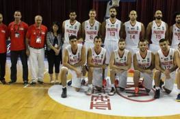 المنتخب الوطني لكرة السلة يغادر إلى الأردن