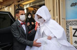 حفل زفاف بغزة بدون مدعوين بعد إغلاق جميع صالات الأفراح