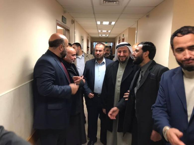 وفد من حماس ونواب الشمال يزور مدير شرطة المحافظة