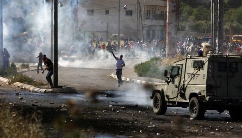 إصابات بمواجهات مع الاحتلال جنوب غرب جنين