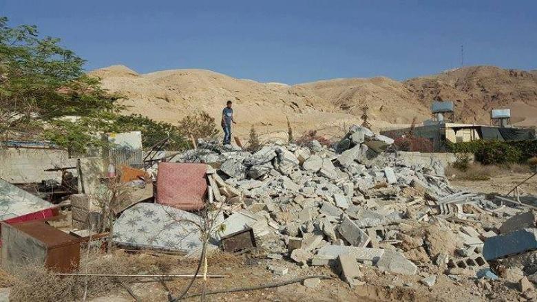 قوات الاحتلال تهدم 9 منازل بأريحا