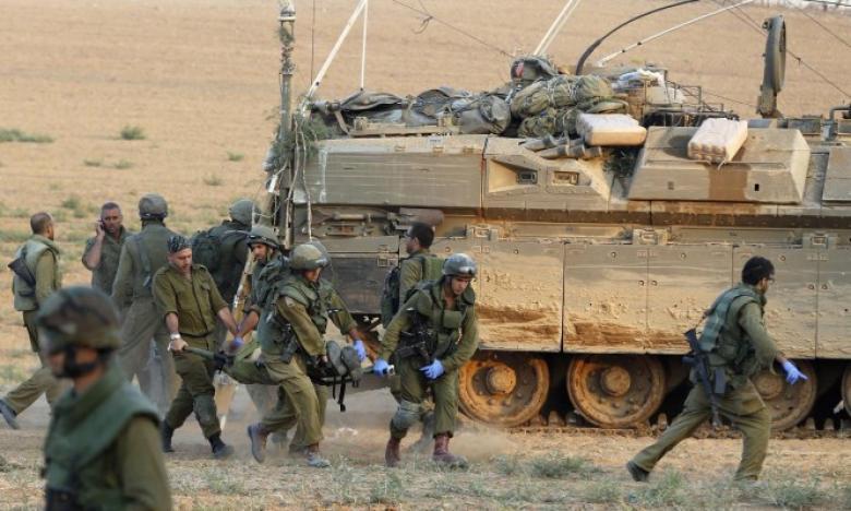 الاحتلال يجري تدريبات تحاكي إخلاء غلاف غزة