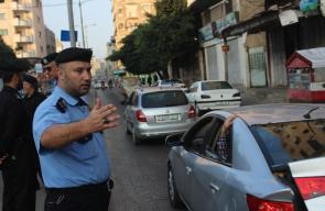 شرطة المرور بقطاع غزة تؤمن طريق الطلاب بأول أيام العام الدراسي