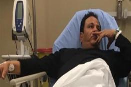 تطورات الحالة الصحية لمحمد فؤاد بعد دخوله المستشفى