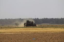 توغل محدود لجرافات الاحتلال شرق البريج