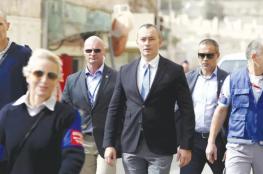 """ميلادينوف يحذر من """"حرب مدمرة"""" على قطاع غزة"""
