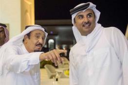 أمير قطر يتلقى رسالة خطية من الملك سلمان