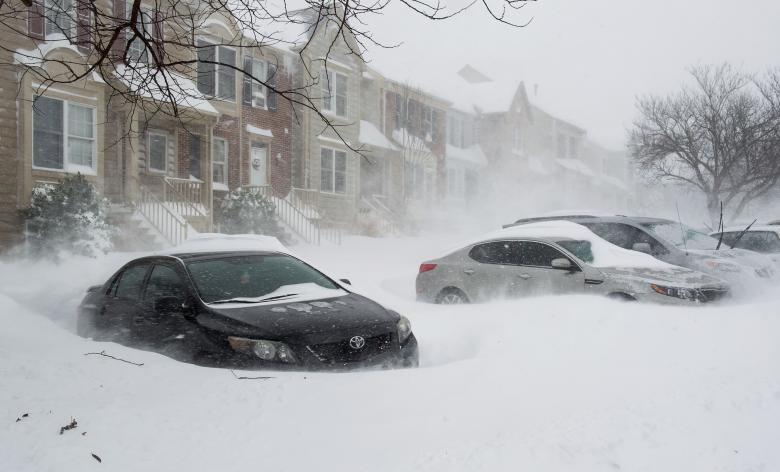 """عاصفة """"ستيلا"""" الثلجية تغلق مقار الأمم المتحدة في نيويورك"""