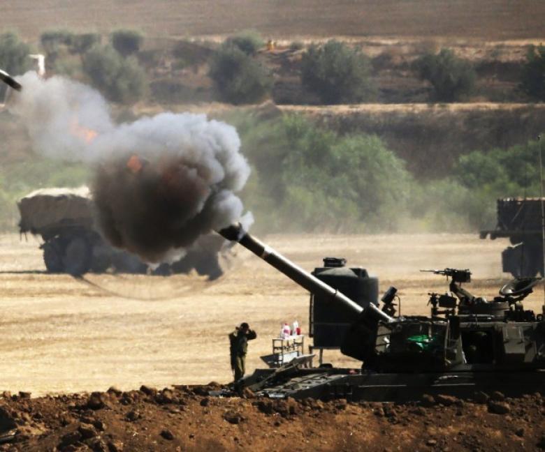 مدفعية الاحتلال تستهدف مرصدا للمقاومة شرق  غزة