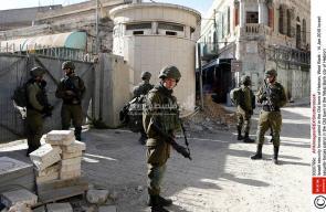 اقتحام قوات الاحتلال للمدينة القديمة في الخليل