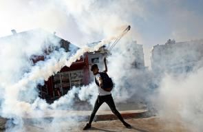 إصابات واعتقالات بمواجهات مع الاحتلال بالبيرة