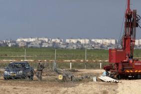 الاحتلال يعثر على نبع مياه ساخنة على حدود غزة