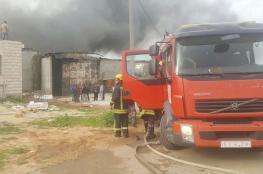 الضفة: الدفاع المدني يتعامل مع 183 حادث إطفاء وإنقاذ خلال أسبوع