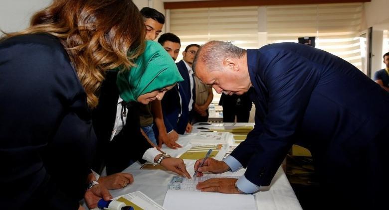 انتهاء التصويت في الانتخابات الرئاسية والبرلمانية التركية