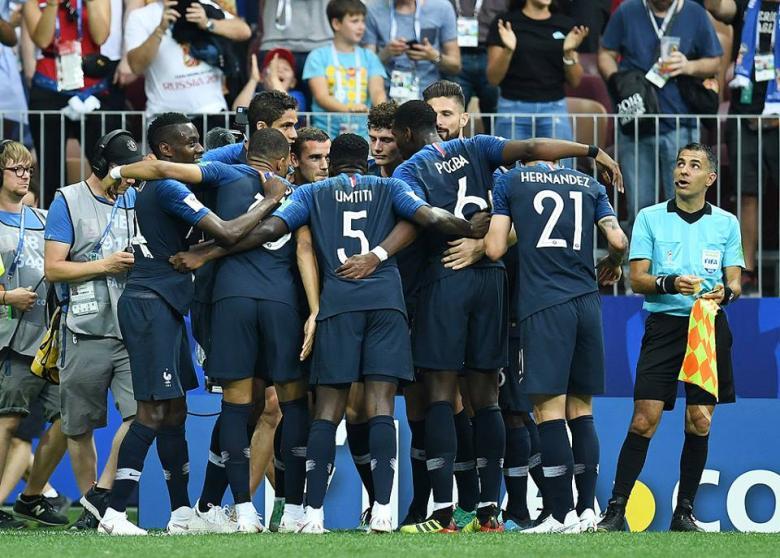 فرنسا تتوج بكأس العالم على حساب كرواتيا