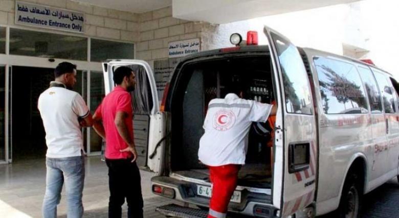 وفاة طفل بحادث سير في مدينة رفح جنوب القطاع