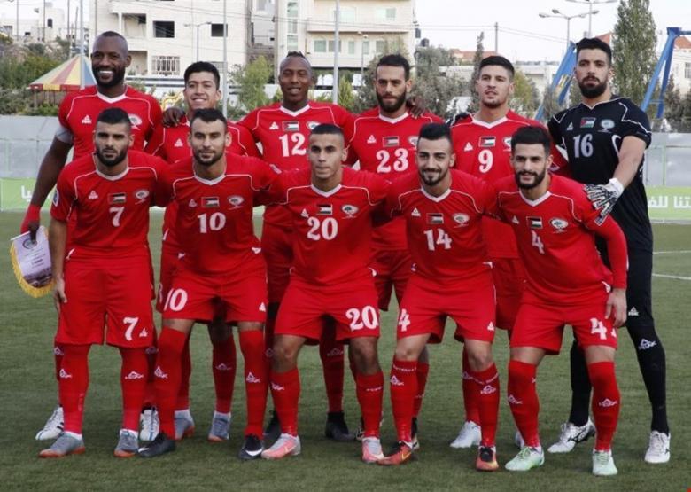 منتخب فلسطين يستكمل تحضيراته لمواجهة قيرغيزستان