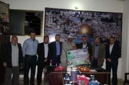 حماس تزور قيادة حركتي الجهاد والأحرار بدير البلح