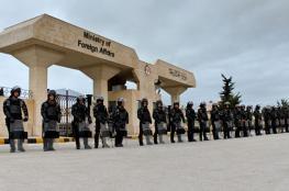 """عائلة أسير أردني تحتج أمام """"الخارجية"""" في ظل تراجع حالته الصحية"""