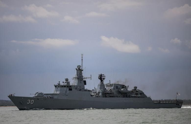 البحرية الأمريكية: مجلس التعاون يبدأ تسيير دوريات بالخليج