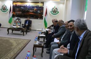 اجتماع حركة حماس بالفصائل الفلسطينية في مدينة غزة