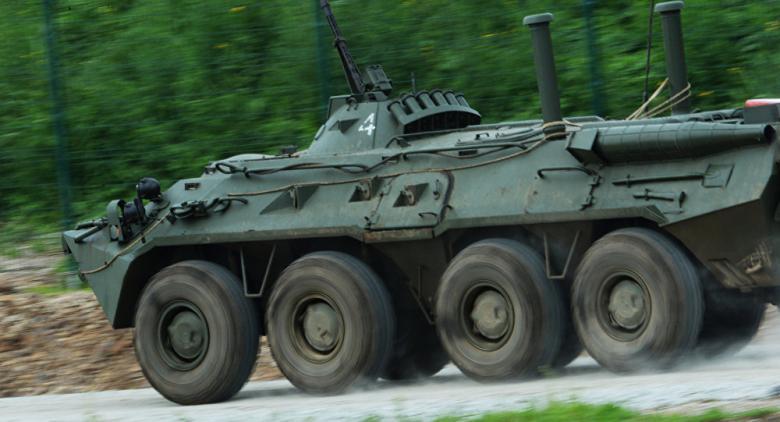 """قوات """"النمر"""" بسوريا تستولي على مدرعة الناتو"""