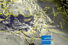 آخر تطورات المنخفض الجوي وخرائط الأمطار في فلسطين