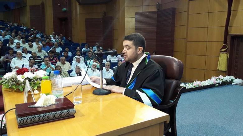 مناقشة أول رسالة دكتوراة نحوية في فلسطين