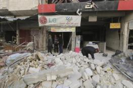 40 قتيلا مدنيا بغارات روسية على الغوطة