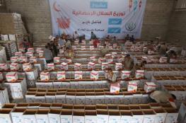 قافلة طرود غذائية من تركيا إلى غزة قبيل رمضان