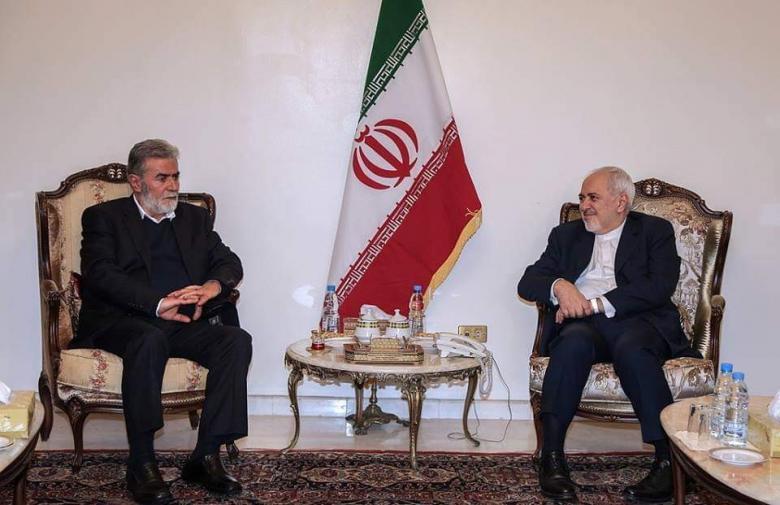 النخالة يلتقي وزير الخارجية الإيراني في بيروت