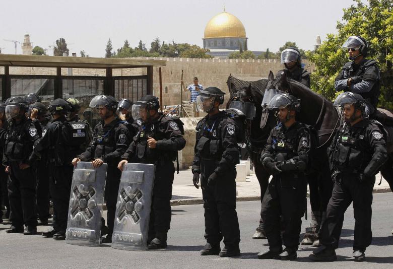 القدس: انتشار مكثف لشرطة الاحتلال في محيط الأقصى
