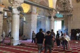 حماس: اقتحام الأقصى تجرؤ خطير على مقدسات شعبنا