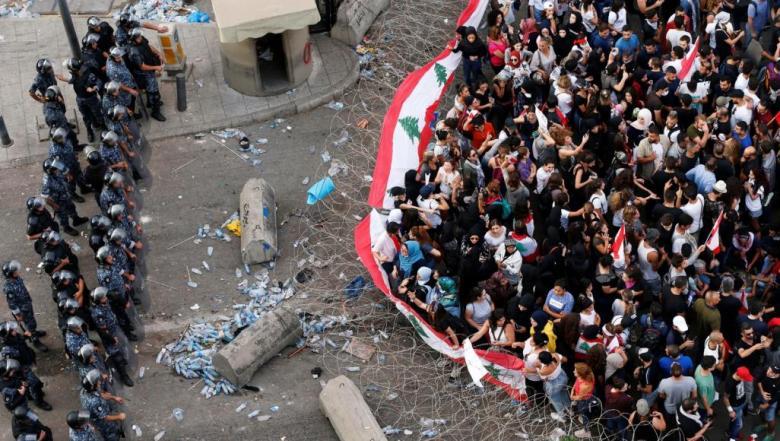"""أول تعقيب من فتح بلبنان حول مظاهرات """"إسقاط النظام"""" ببيروت"""
