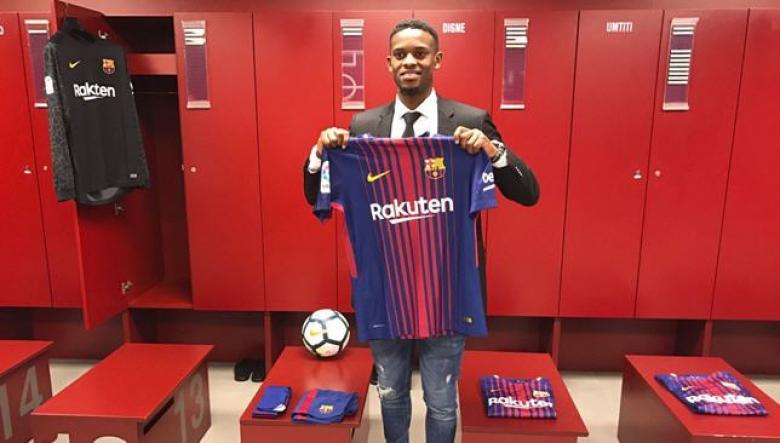 برشلونة يتعاقد رسمياً مع البرتغالي سيميدو