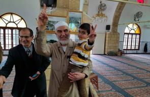 استقبال الشيخ رائد صلاح بمدينة يافا المحتلة