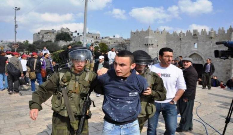 الاحتلال يعتقل 3 مواطنين بالقدس