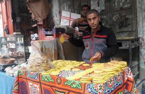 استعدادات أسواق خانيونس لاستقبال رمضان