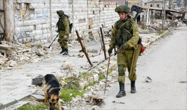 مقتل ضابط بالمشاة البحرية الروسية في سوريا