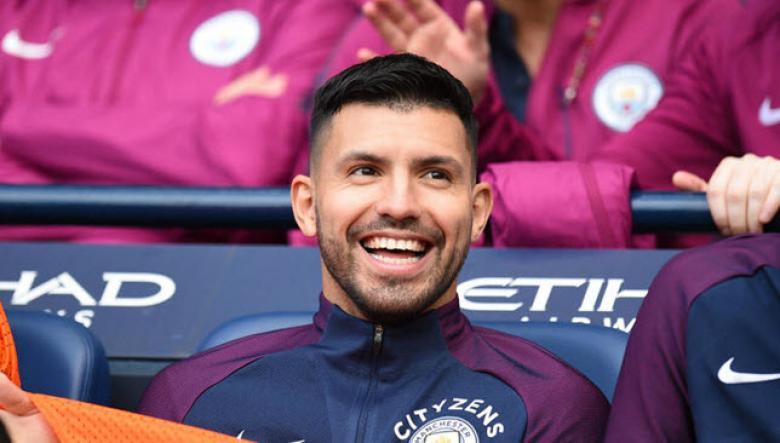 مانشستر سيتي يعلن تعافي أغويرو من الإصابة